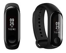 Фитнес-трекер Xiaomi Mi Band 3 Black Оригинал + ремешок Black/Green Nike Гарантия 3 месяца, фото 3