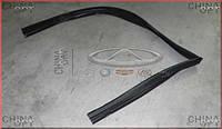 Уплотнительная резинка стекла передней двери L, Chery Amulet [1.6,до 2010г.], A11-5206111, Original parts