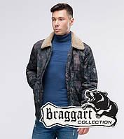 Braggart Youth   Куртка бомбер осенняя 38666 темно-серый