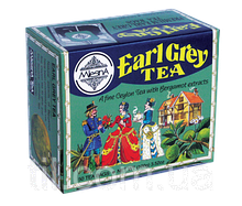 Черный чай Эрл Грей (бергамот) 100г (50*2г)