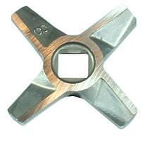 Нож для мясорубки Zelmer NR8 (ОРИГИНАЛ) Двухсторонний (ZMMA128X) 10003883, фото 1