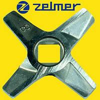 Нож для мясорубки Zelmer NR8 (ОРИГИНАЛ) Двухсторонний (ZMMA128X) 755472, фото 1