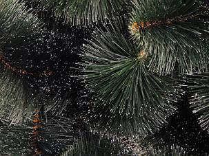 Сосна искусственная Пышная заснеженная 2,4м ель ели ёлка ёлки елка елки сосна штучна ялинка ялинки сосни, фото 2