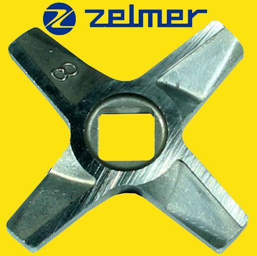 Нож для мясорубки Zelmer NR8 (ОРИГИНАЛ) Двухсторонний (ZMMA128X) 986
