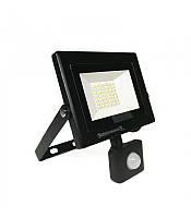 Світлодіодний прожектор з датчиком руху 30W 6400K Pars/s-30 Horoz Electric