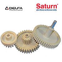 Набор шестерней для мясорубок Delfa, Saturn, Vitek, фото 1