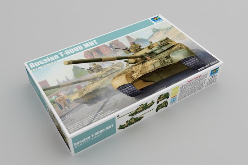 Т-80УД МБТ. Сборная модель танка в масштабе 1/35. TRUMPETER 09527