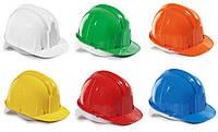 Каска рабочая оранжевая и белая ( строительная )