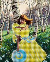 """Схема на ткани для вышивки """"Дыхание весны"""""""