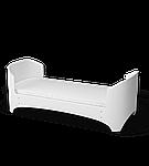 Детская кроватка Ingvart Futurbaby белая 5в1 (без укачивания), фото 4