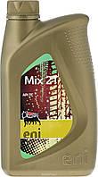 ENI Mix 2T (1л) Минеральное моторное масло для мотоциклов, бензокосилок, бензопил
