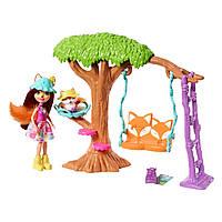 Игровой набор Enchantimals Домик на дереве Фелисити Лис, FRH44 / FRH45