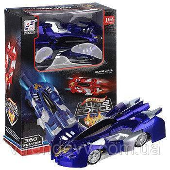 Антигравитационная машинка Max Racer Climb Force синяя