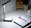 Аккумуляторная настольная лампа трансформер Topwel Белая с черными вставками, фото 3