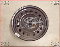 Диск колесный, стальной, R15, Geely GC5 [CE1], 1064000183, Original parts