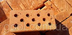 Кирпич рядовой керамический Кировоградский (Кропивницкий) М-100 пустотелый дырчатый