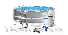 Каркасный бассейн Intex 26716, (366 x 99 см) (2 006 л/ч, лестница )