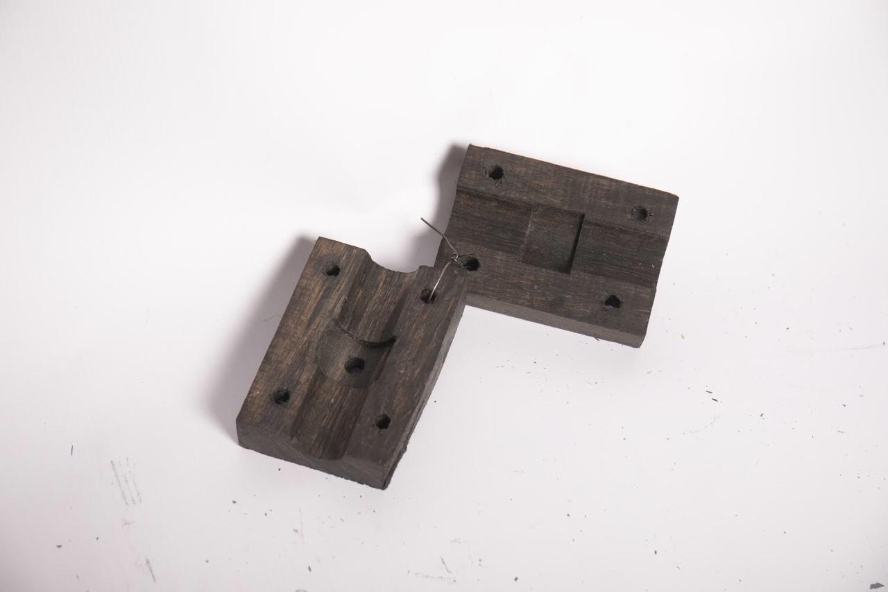 Полуподшипник граблины (деревянный) СК-5 НИВА