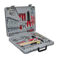 Набор инструментов с комплектом монтажного инструмента (126 ед.) Intertool ET-5126