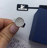 Кольцо My Jewels из серебра с камнями Swarovski круглое (размер 18,5), фото 1