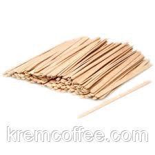 Розмішувач дерев'яний 12 см