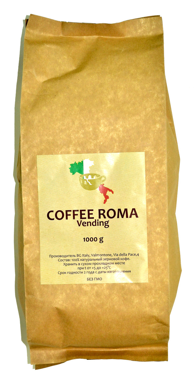 Кава в зернах Coffee Roma Vending 1 кг