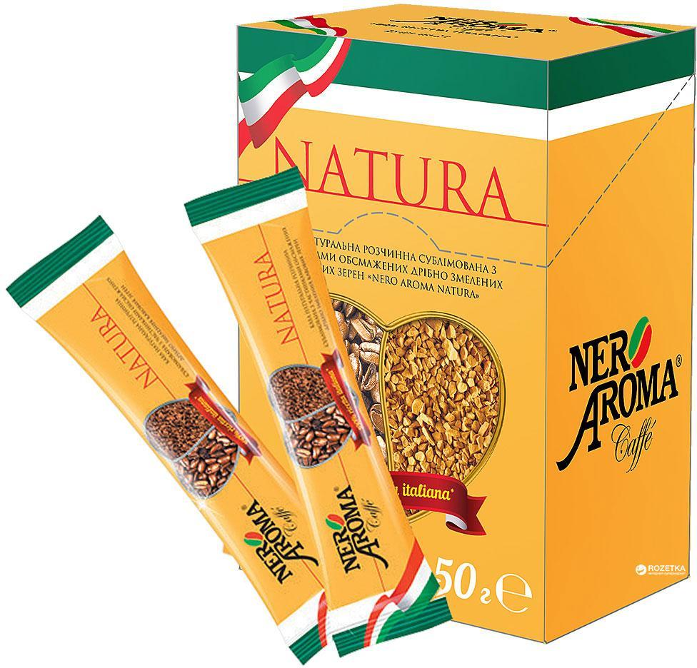 Кава розчинна Nero Aroma Natura в стіках 2 г