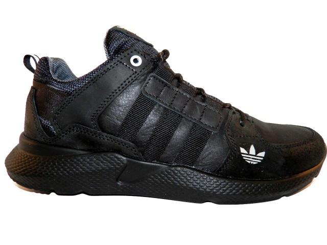 Туфли мужские Adidas ( Реплика) A-1 черный * 17776