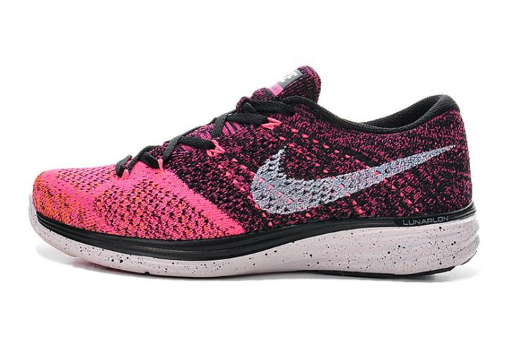 Кроссовки женские Nike Flyknit Lunar 3+ / FLW-035