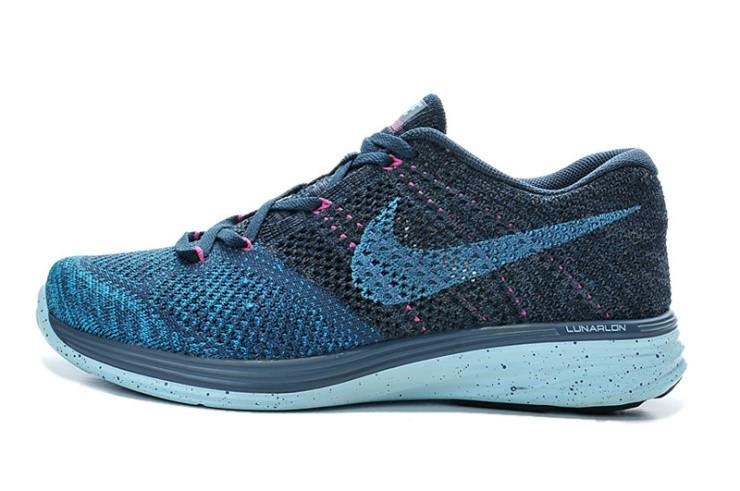 Кроссовки женские Nike Flyknit Lunar 3+ / FLW-036