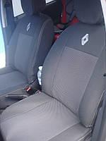 Авточехлы VIP Renault Trafic (1+1) 2001-2014 автомобильные модельные чехлы на для сиденья сидений салона RENAULT Рено Trafic