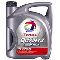 Масло синтетическое TOTAL QUARTZ INEO MC3 5W30 5L