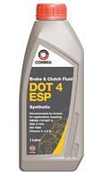 Тормозная жидкость DOT4 COMMA DOT 4 ESP 1L