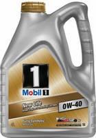 Полусинтетическое  моторное масло MOBIL 1 0W40 New Life 1L