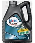 Масло минеральное MOBIL SUPER 1000 15W40 4L