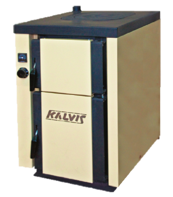 Kalvis-4B-1 котел плита (с регулятором тяги)