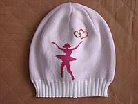 """Детская шапочка для девочек """"Балерина"""""""