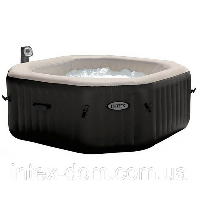 Надувний басейн PureSpa Jet and Bubble Massage Intex 28454 (4-х місць: 3 р/год - 1 741 л/год, гідро)