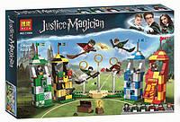 """Конструктор Bela 11004 """"Матч по Квиддичу"""" Гарри Поттер, 536 детали. Аналог Lego Harry Potter 75956, фото 1"""