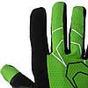 Велорукавички PowerPlay 6556 А Зелені XL, фото 4