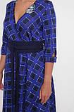Платье расклешенное Луиза электрик, фото 4