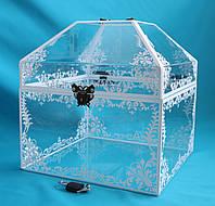 Весільний скринька для букета нареченої, фото 1