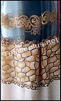 Тюль органза с тканевой вставкой Рейни (kod 3464)