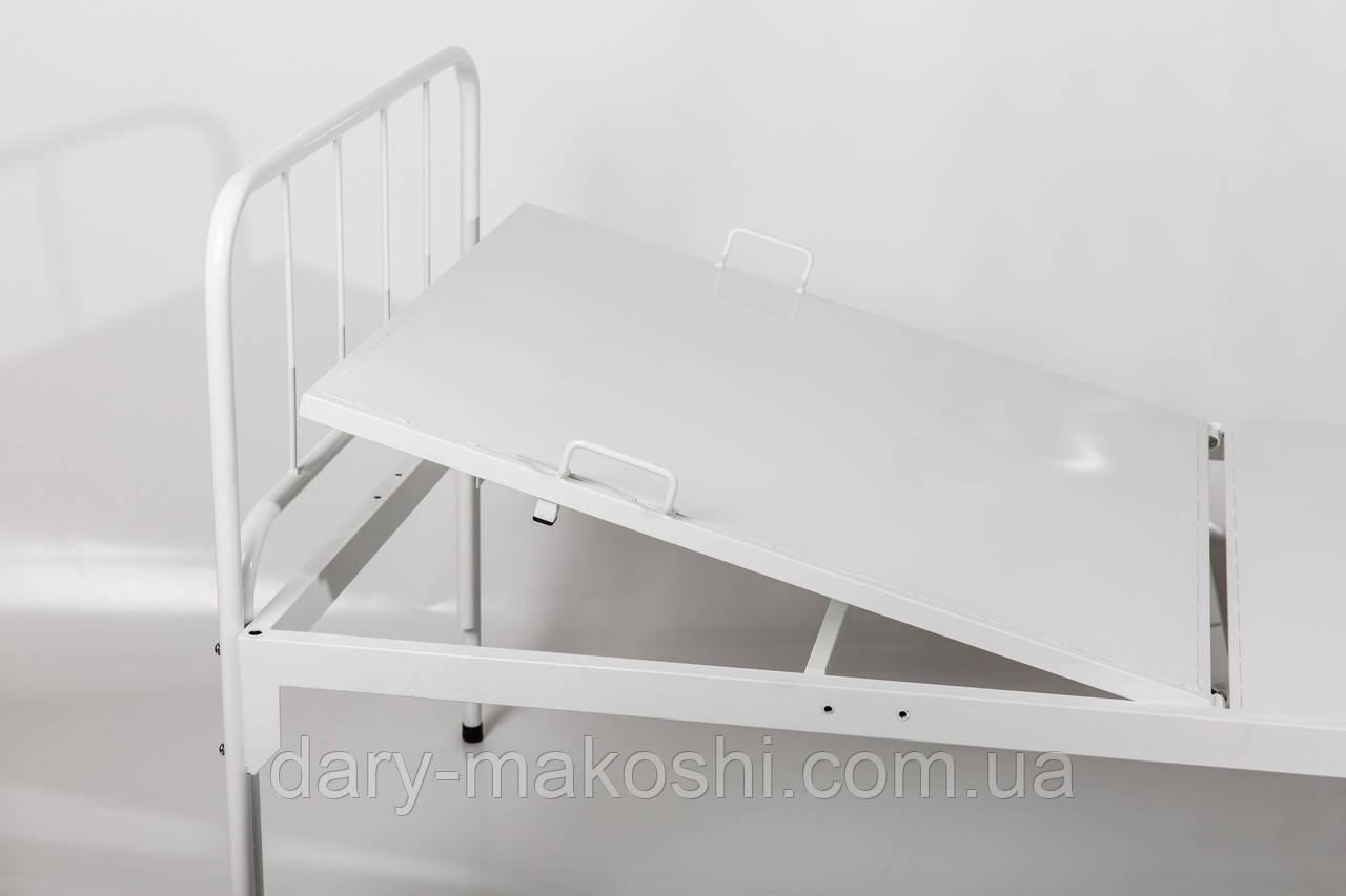 Кровать функциональная двухсекционная с мехприводом КФ-2-СМп-БТ