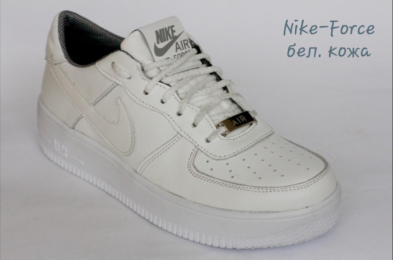 Кроссовки Nike - Force белые