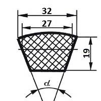 Ремень клиновой  Д(Г)-1900