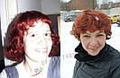 🧡  Женский рыжий кучерявый короткий парик из натуральных волос 🧡, фото 9