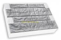 "Термопанель  SunRock ""Скальный камень"" 600х400х50мм Минвата 145кг/м.куб 100мм, Белый цемент"