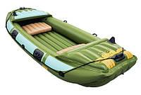 Туристическая надувная лодка Bestway 65008 Neva III, фото 1