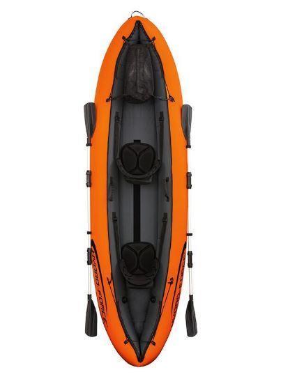 Туристическая надувная лодка Intex KAJAK